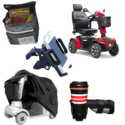 Panther Heavy Duty 4-Wheel Scooter #22CS-STND-TK with Cover & Accessories