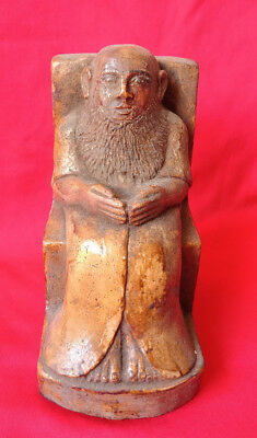 PRIEST STATUE  ANCIENT EGYPTIAN HIGH PRIEST egyptian antiques