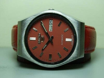 Vintage Seiko Automatic Day Date Mens 181358 Wrist Watch g359 Old Used Antique