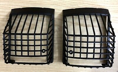 Vespa Px Pe 125 150 200 Utah Taillight Protection Grill Griglia Fanale Racing