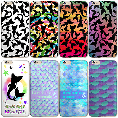 Multicolour Mermaid P8 P9 P10 P20 P Smart Y3 Y6 Case Hard Cover For Huawei Phone