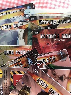doctor who battles in time Trading Cards RARE 23card Bundle