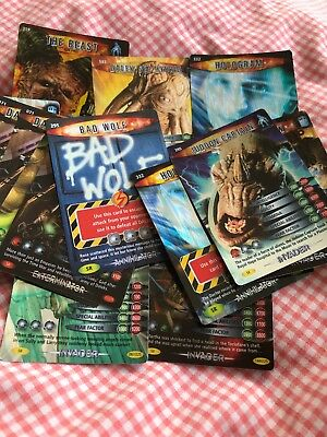 doctor who battles in time Trading Cards SUPER RARE 5 Card Bundle