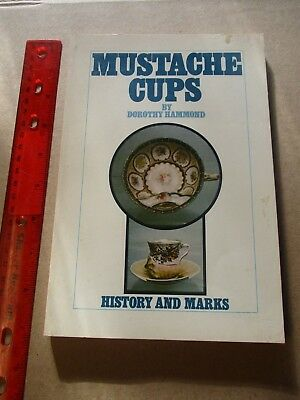 MUSTACHE CUPS HISTORY AND MARKS HAMMOND 1972 Out of Print refrenceguide