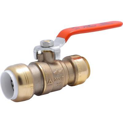 Sharkbite 3/4 in. PVC IPS x 3/4 in. CTS Brass Push-to-Connect Ball Valve