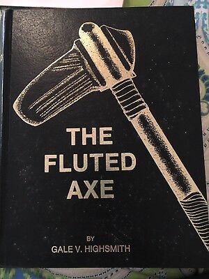 The Fluted Axe, Highsmith,  1985 Palmer Publications, Signed By Author Very Rare
