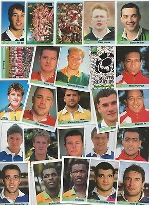 Rugby World Cup 1995 Merlin Stickers 25 different stickers lot 4