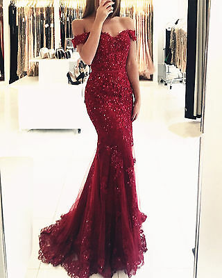 daf7361a343ab Crystal Formal Evening Dress Mermaid Celebrity Pageant Party Prom Gown  Custom