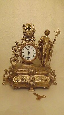 Striking Antique French Mantle Clock