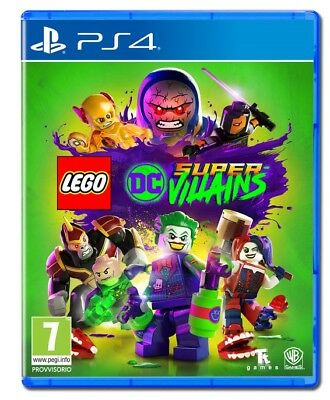 Videogioco Lego Dc Super Villains Ps4 Gioco Marvel Play Station 4 Italiano