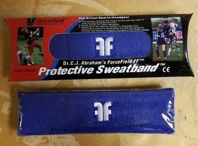 Forcefield Protective Sweatband Royal Blue Junior Size 4-9 BRAND NEW