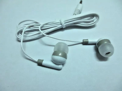 Earphones - For iPhone Samsung Mobile Phone/Laptop/Music Headphones White