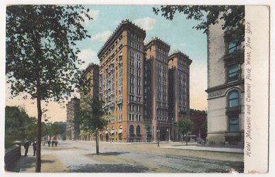 New York City c1905 Hotel Majestic, Central Park West, Manhattan, demolished