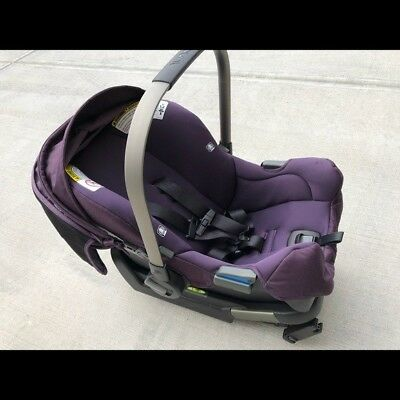 Nuna Pipa Infant Car Seat In Blackberry With Base