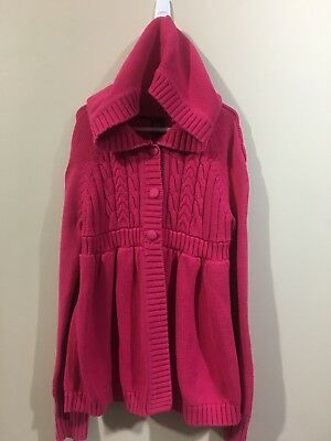 gap kids girls size 12 Hoodie Pink Sweater