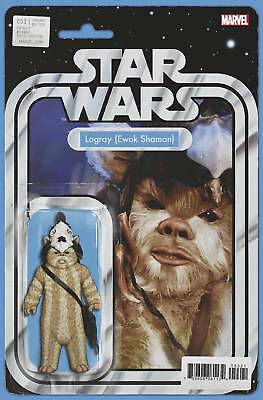 Star Wars #53 Christopher Action Figure Variant Marvel Nm First Print 2018