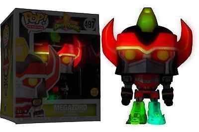 FUNKO POP POWER RANGERS Megazord Surdimensionné Glow In The Dark Vinyl Figure