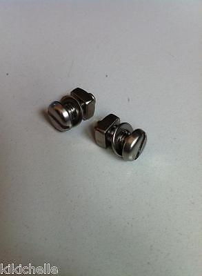 Raleigh Chopper Chain Guard Bolts Fixings Mk1/mk2 - Stainless Steel - Free Post