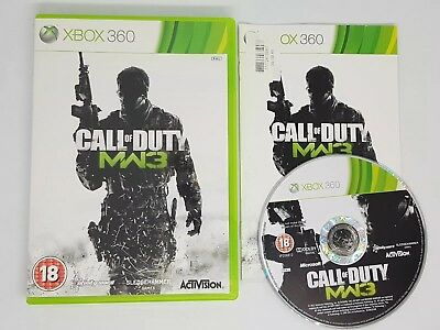 Call Of Duty Modern Warfare 3 Xbox 360 Mw3 Xbox One Vgc Super