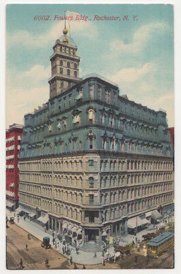 Rochester New York c1908 Powers Building, Andrew Jackson Warner, architect
