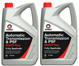 2X - Comma Fully synthetic Automatic Transmission & Power Steering Fluid Oil