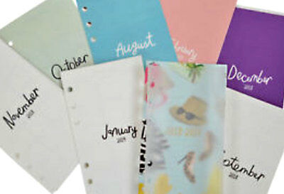 NEW Kate Spade 2018-2019 Large Personal Planner Organizer Inserts