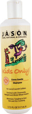 Kids Only Extra Gentle Shampoo, Jason Natural Products, 17.5 oz