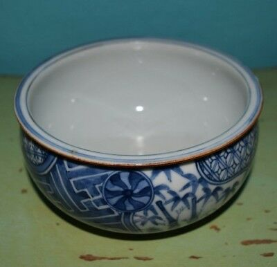 Antique Japanese or Chinese Bowl Kangxi Style Hand Painted