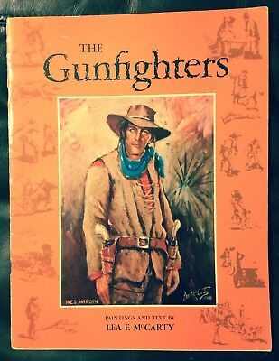 """Wild West Book 20 Paintings/histories """"the Gunfighters"""" Jesse James & More"""