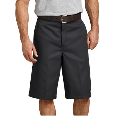 Dickies Loose Fit 13 Inch Multi Pocket Black Mens Work Shorts