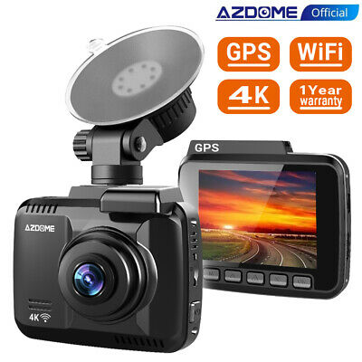 "2.45"" Full HD 1080P WIFI Autokamera AZDOME Dashcam Video Recorder mit G-Sensor"