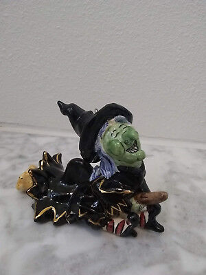 "Blue Sky Clayworks Halloween by Heather Goldminc ""Grisella"" Snuffer Ceramic"