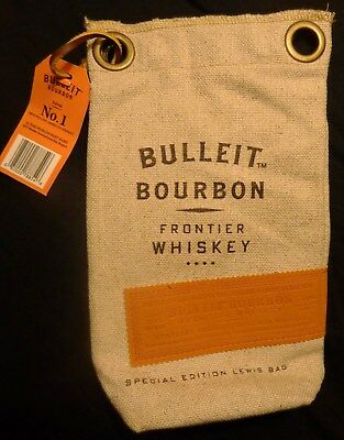 Bulleit Bourbon - Special Edition Lewis Bag - Burlap Bag - Crushed Ice Bag - NEW