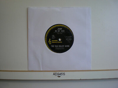 45 Vinyl Records The Ted Mulry Gang Jump In My Car