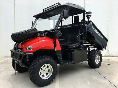 FARM BOSS DAIHATSU Diesel 1000Cc Utility Side X Side Farm Buggy Atv Utv