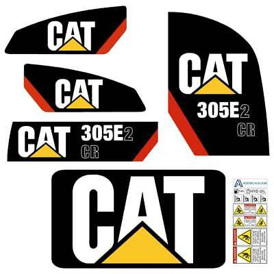 305.5E2 CR Decals Stickers repro Kit Cat 305.5E2CR Decals