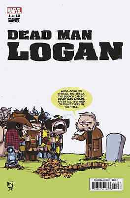 Dead Man Logan 1 Skottie Young Baby Variant Nm