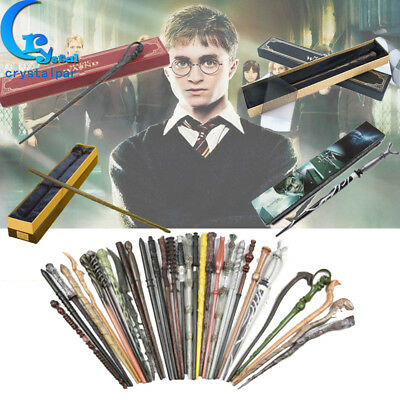 UK Harry Potter Wand Magic Hermione Dumbledore Voldemort Snape Film Toy Gift Box