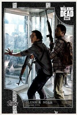 ON THE MOVE WHITE GLENN & NOAH WAVE 2 Topps Walking Dead Digital Card Trader