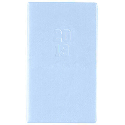 Diary 2019 Cumberland Monthly Planner A6 Month to View Blue 648PASS