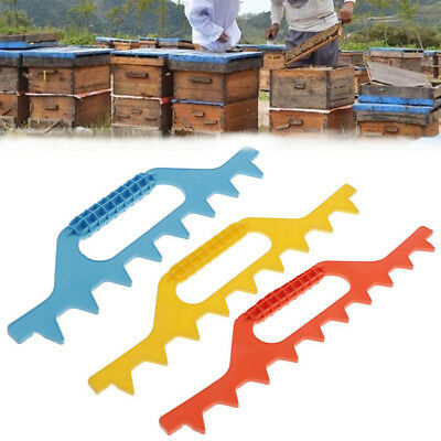 Yellow/Blue/Red Beekeeping Equipment Frame Spacer Bee Hive Frame Spacer Tool HQ