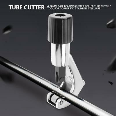 Pipe Cutter Scissors 4-28mm Bearing Roller Tube Cutter Cutting Blade Hand Tools