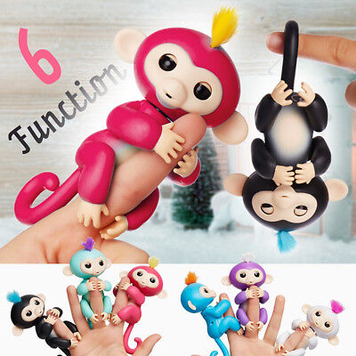 Finger Baby Monkey Kids Cute Electronic Interactive Fingertip Robot Pet Toy Gift