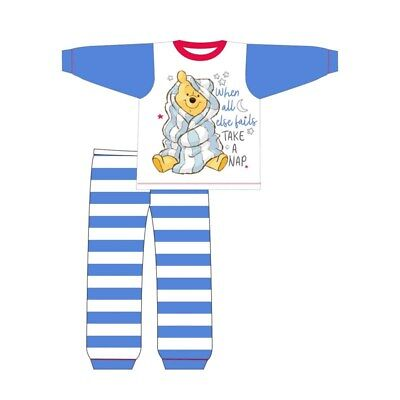 Boys Pyjamas Winnie the Poo Toddler Pjs 6 Months to 24 Months