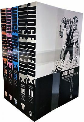 Judge Dredd: Complete Case Files Volume 6-10 Collection 5 Books Set (Series 2)