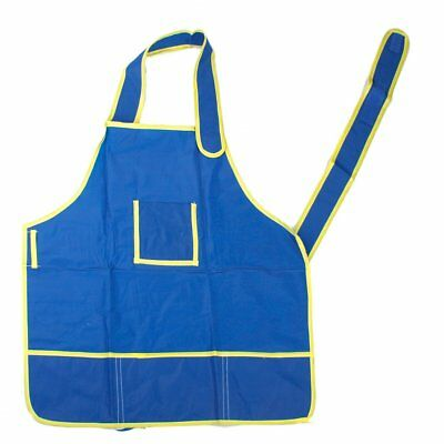 Apron Blouse of painting waterproof anti-wear for Costume crafts of childre S8L4