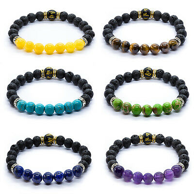 7 Chakra Christal Stones Bracelet. Natural Reiki. Healing Beads Jewellery.