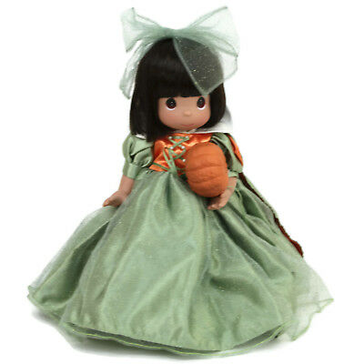 Precious Moments Disney Parks Exclusive Snow White Halloween Doll Green Vinyl