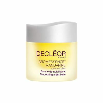 NEW Decleor Aromessence Mandarine Smoothing Night Balm 15ml Women's Skincare