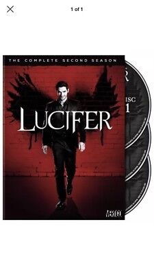 Lucifer: The Complete Second Season - Brand New And Sealed